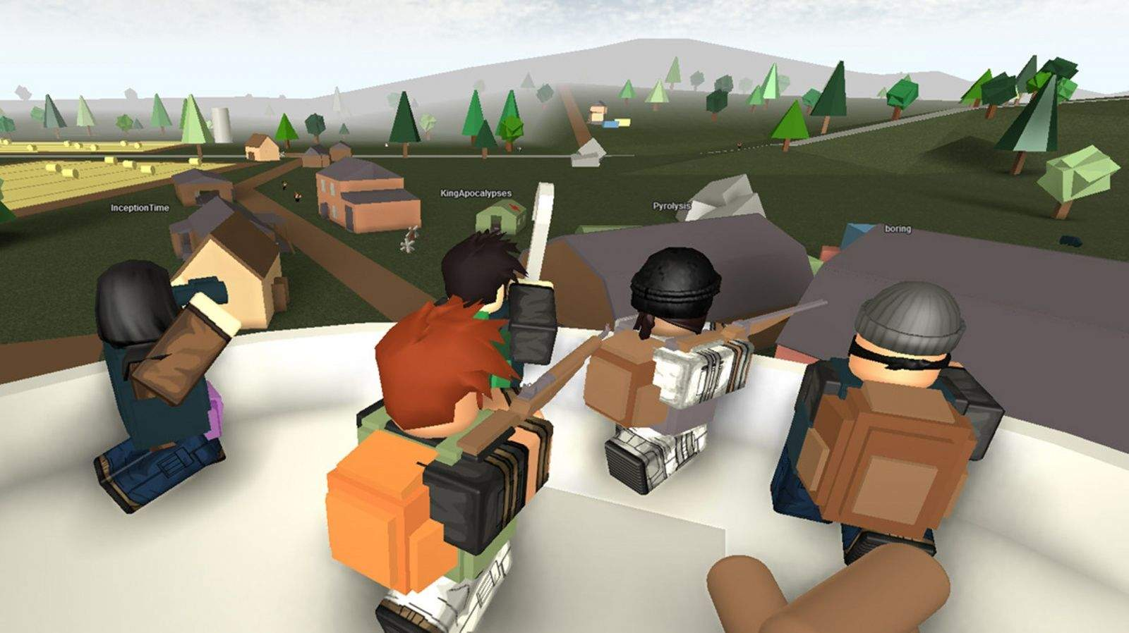 Forget brains  ROBLOX zombie game devours tuition bills A screenshot from the ROBLOX game Apocalypse Rising  Photo  ROBLOX