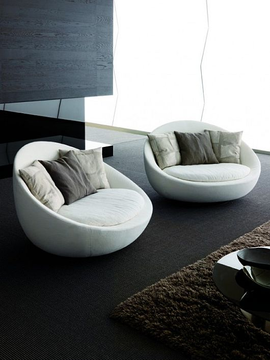 Room Chairs Swivel Modern Living