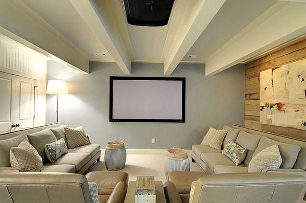Home Cinema Screens Painting