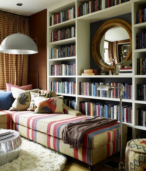How To Display Books As Decoration In Your Interiors