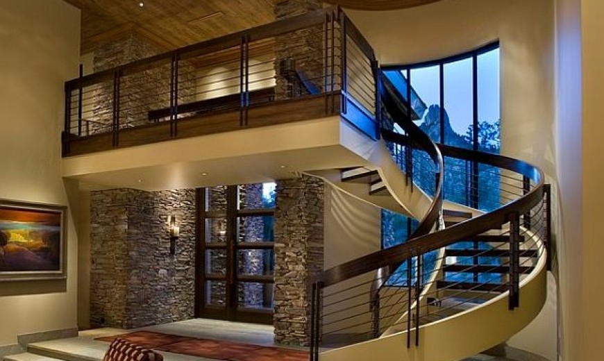 Choosing The Perfect Stair Railing Design Style | Home Stair Railing Design | Grill | Living Room | Inside | Small House | Outside Staircase Grill
