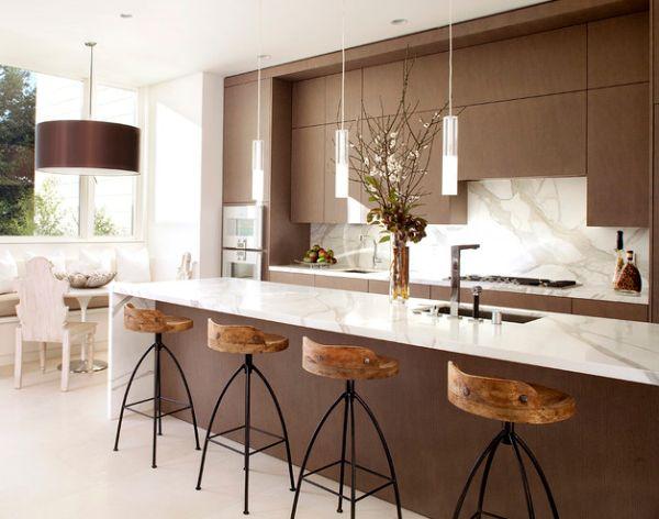 pendant lighting over kitchen island # 19