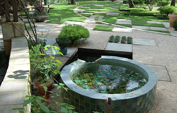 Above Ground Koi Pond Design