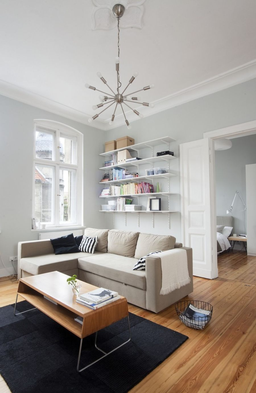 Small Apartment In Poznan Poland Showcases Cool