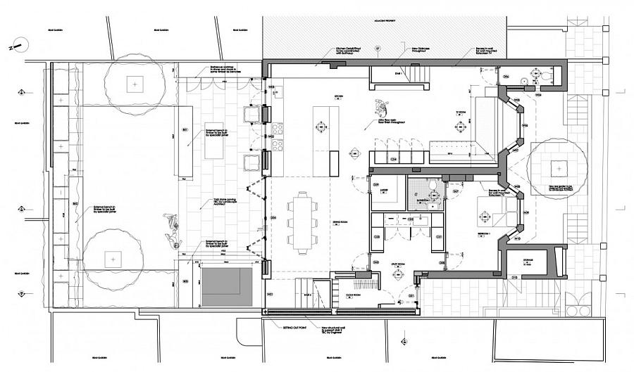 Modern Kitchen Design Floor Plans