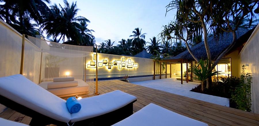 Exotic Island Resort In Maldives Indian Ocean Holidays