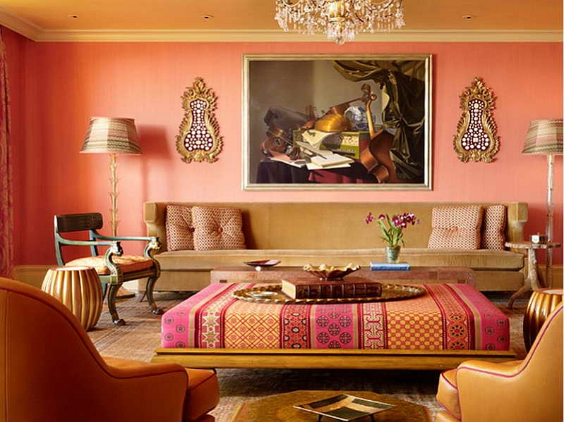 Moroccan Style Living Rooms