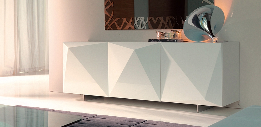 Fabulous And Functional Modern Sideboards With A Touch Of