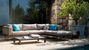 Exclusive Outdoor Sofa, Armchair Collection, Contemporary