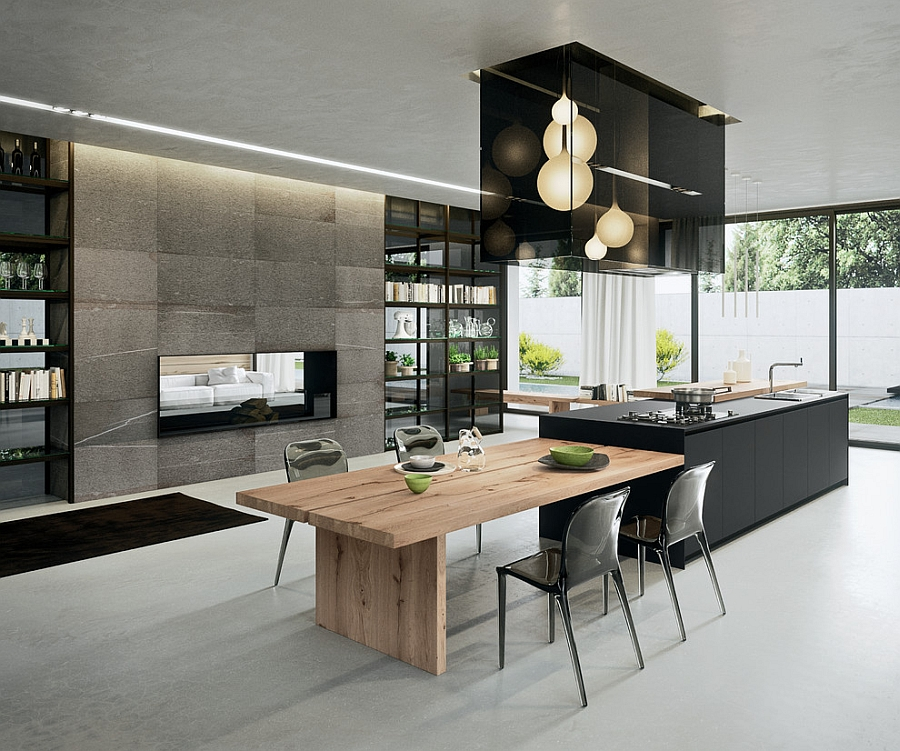 Sophisticated Contemporary Kitchens with Cutting Edge Design View in gallery Exquisite modern kitchen design from Arrital