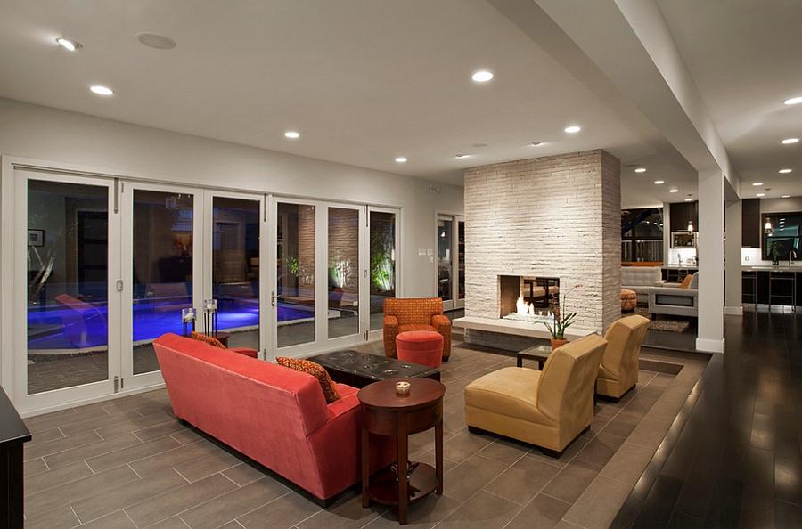 Contemporary Austin Renovation Creates A Bright Colorful Home