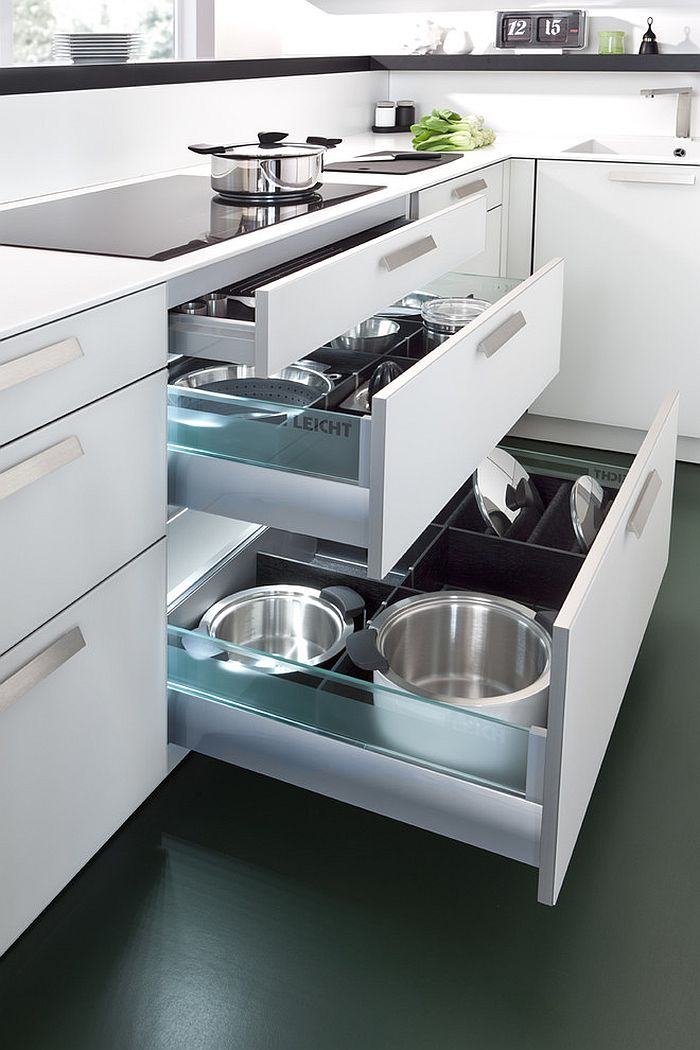 Modern Kitchen Drawer Design