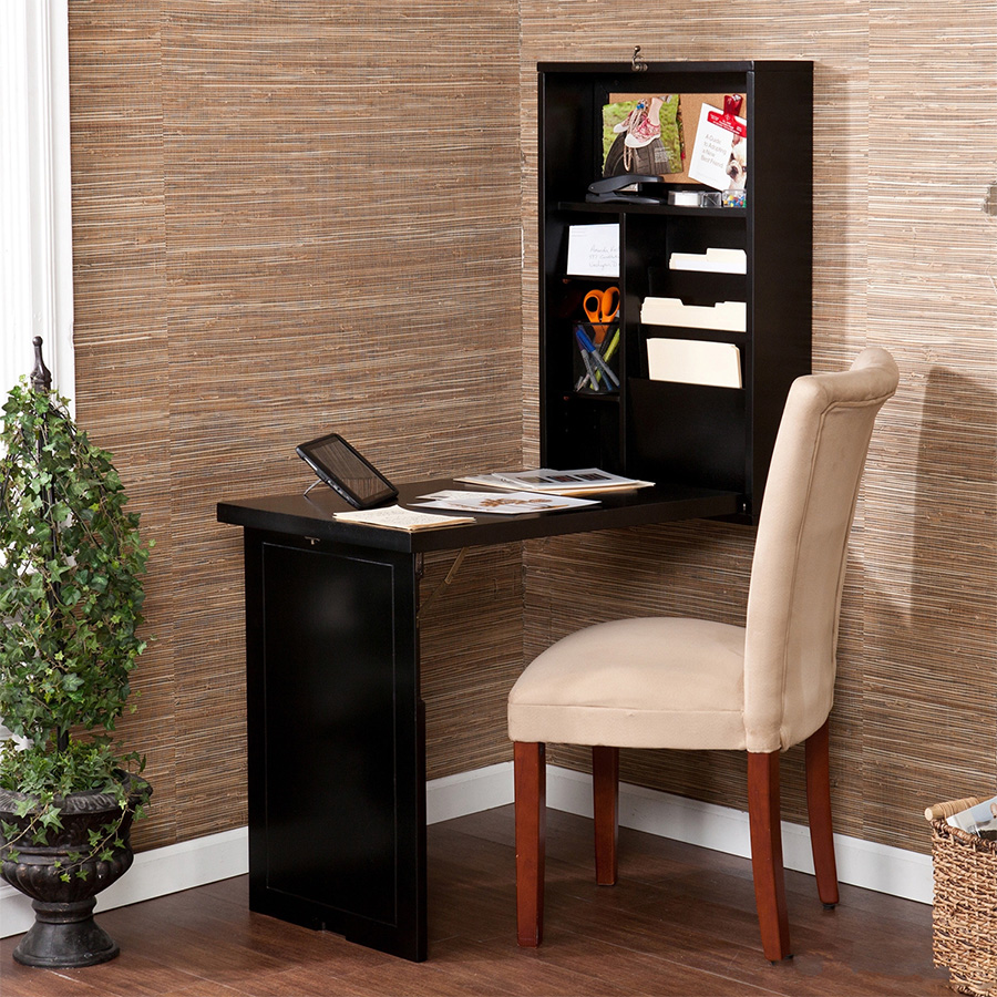 8 Wall Mounted Desks That Save Room In Small Spaces