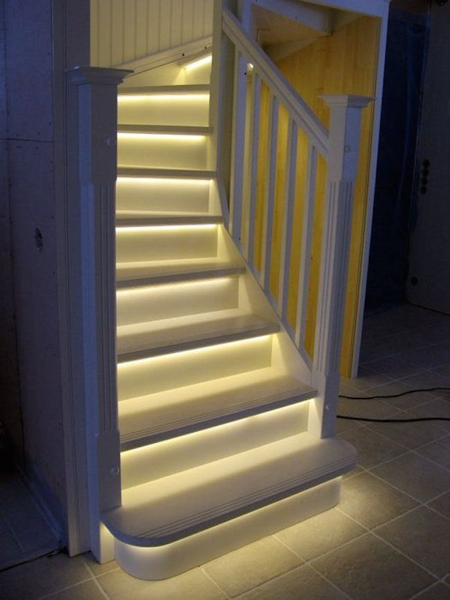 15 Modern Staircases With Spectacular Lighting | Stairs Down To Basement | Ranch House | Animated | Outside | Creepy | Funny