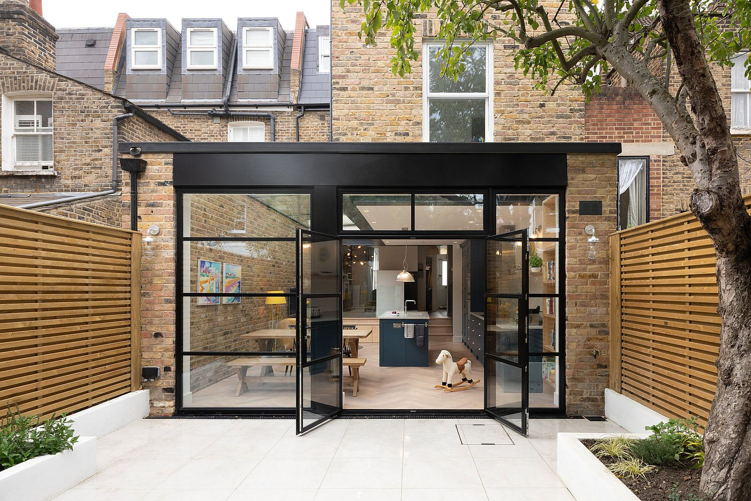 Revamped Terraced Home In South West London In Brick
