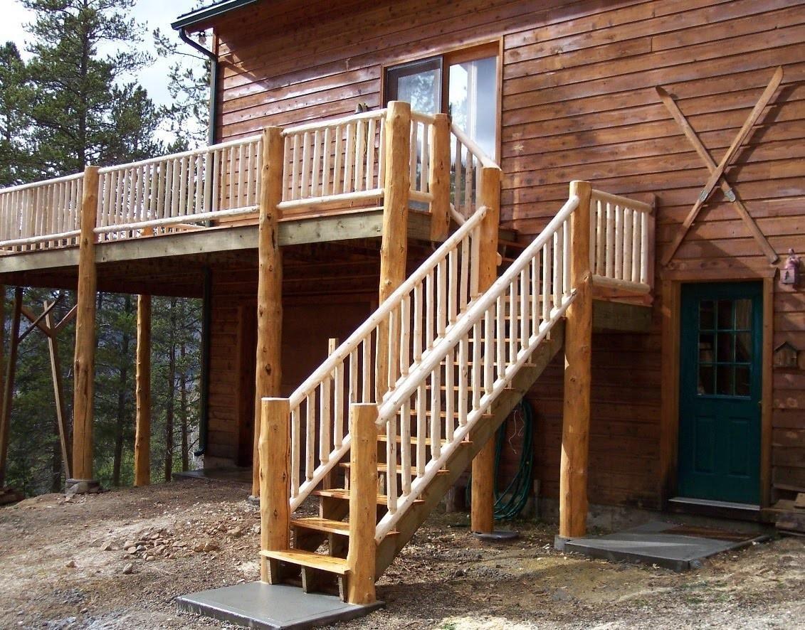 Build Deck Stair Railing Simply Ideas Decoratorist 168298   Building Deck Stair Railings   Outdoor Stair   Balusters   Porch Railing   Porch   Stair Treads