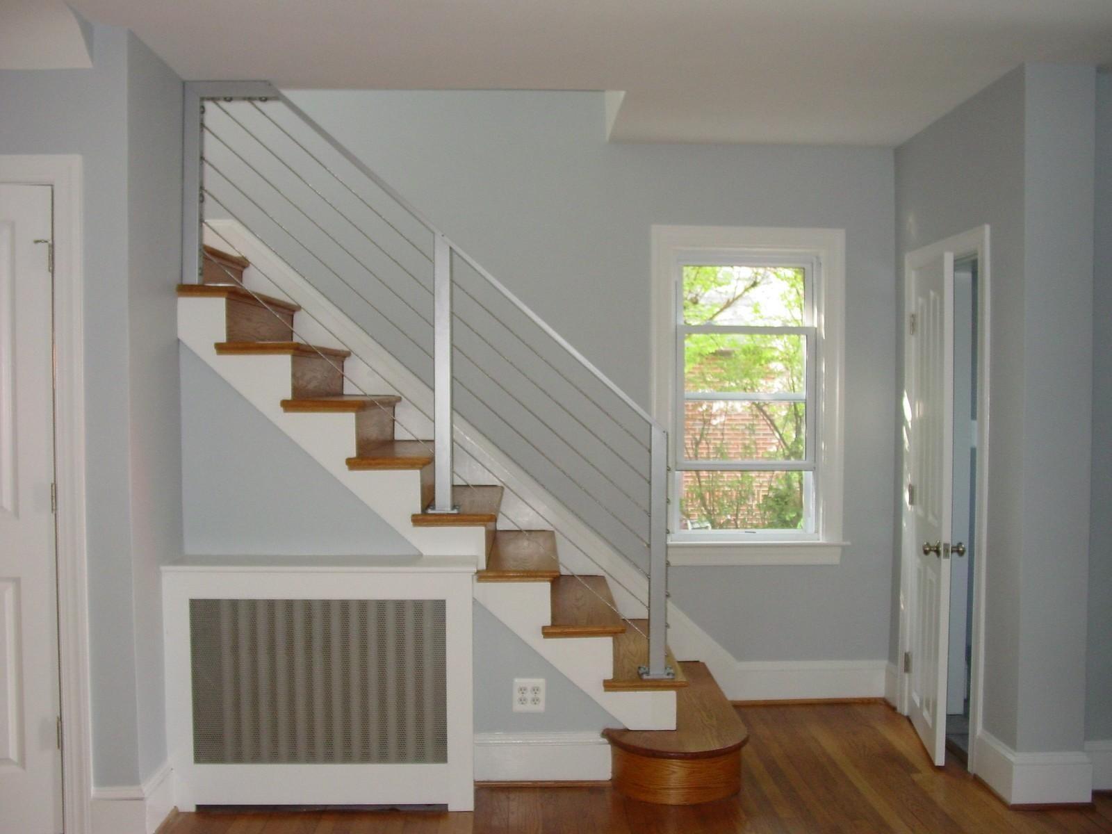 Modern Glass Stair Railing Design Interior Waplag Decoratorist | Stair Railing Designs Interior | Exterior | Creative | Antique | Scandinavian | Rod Iron