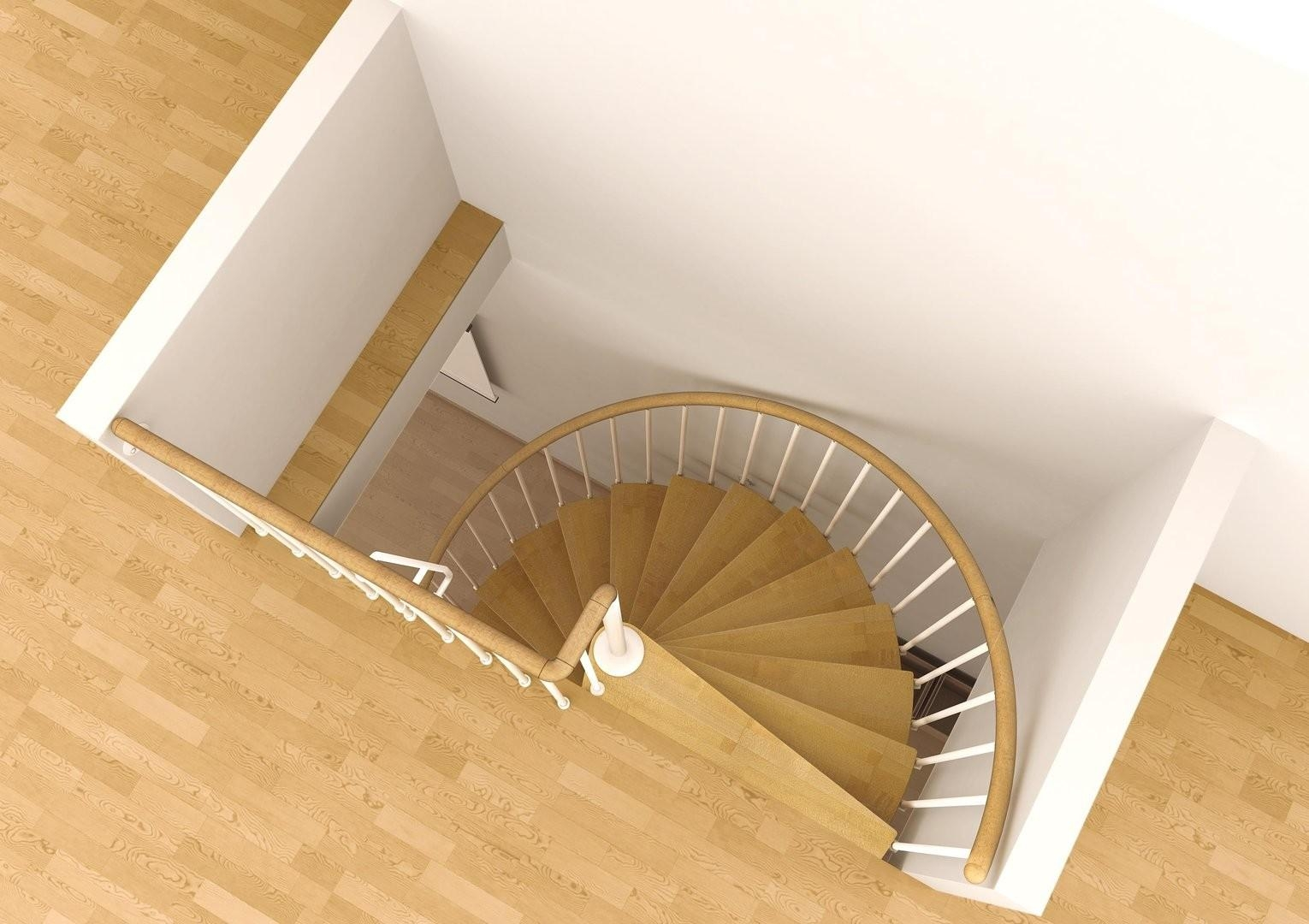 Space Saving Spiral Staircase Type Toscana L00L Stairs | Space Saving Stairs Design | Storage | Small Space | Cute | Low Cost | 2Nd Floor Small Terrace Concrete