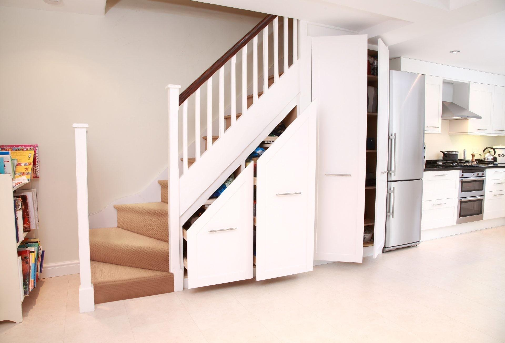 32 Dream Under Stair Storage That You Should See Today Inspire   Modern Under Stairs Storage   Storage Underneath   Bed   External   Concealed   Loft