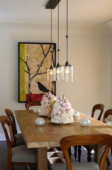 Rustic Lantern Pendant Light