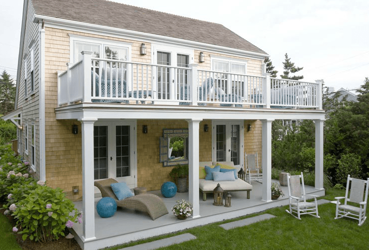 Upstairs Deck Designs