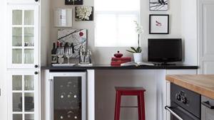 Kitchen Desk Transitional Kitchen Samantha Pynn