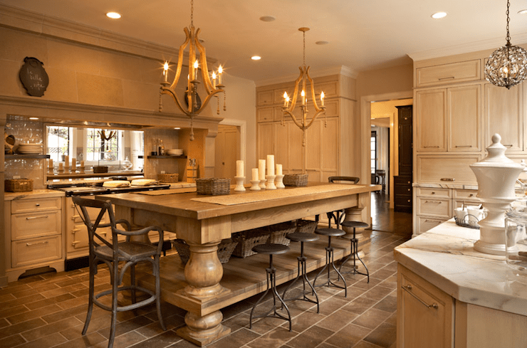 Large Country Kitchen Designs