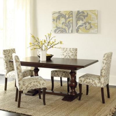 Ethanallen Com Custom Classics Cameron Trestle Table
