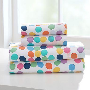 Bright Spot Organic Twin Xl Sheet Set Pbteen