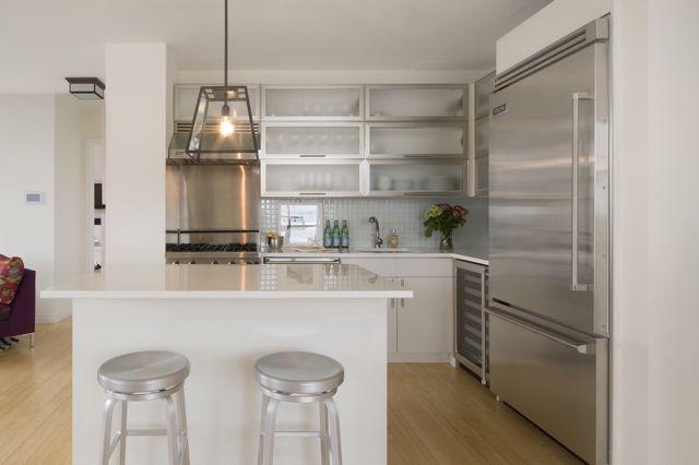 Open Plan U Shaped Kitchen
