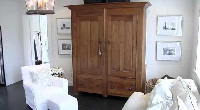 Tv Armoire Transitional Living Room House Amp Home