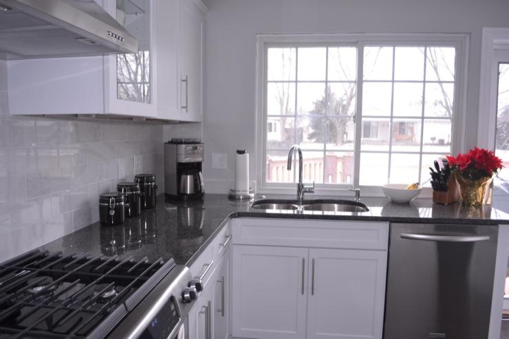 Granite Kitchen Countertops Grey
