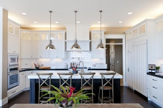 U Shaped Kitchen Countertops