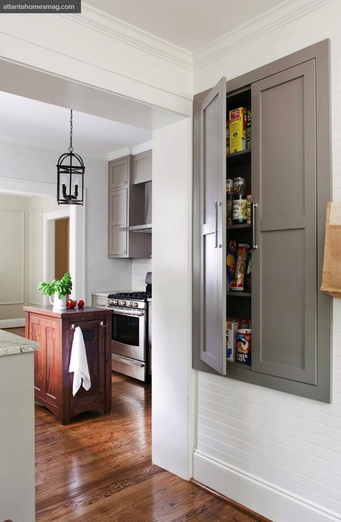 Built In Pantry Transitional Kitchen Sherwin