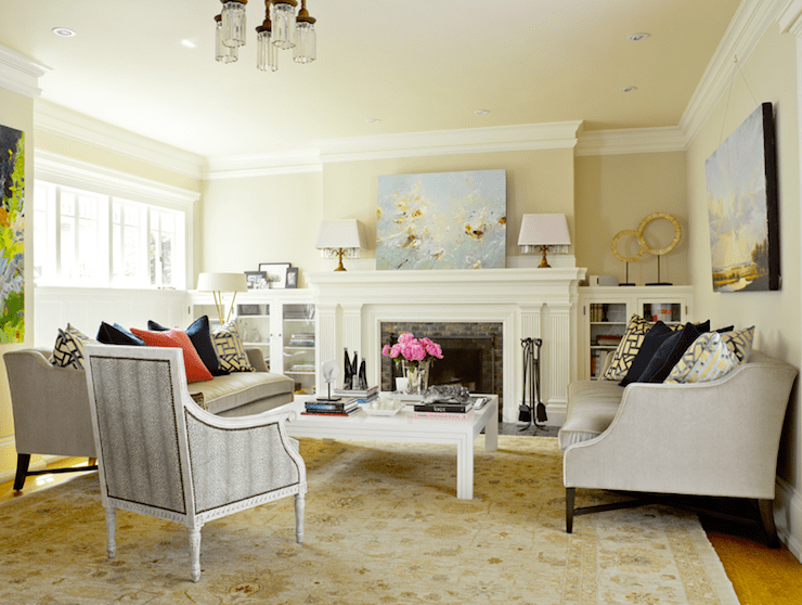 Yellow Colour Schemes Living Room