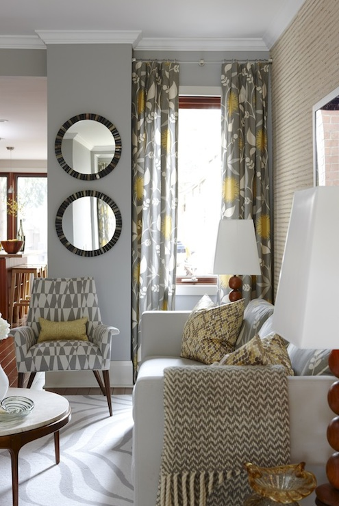 Tufted Chair Yellow Accent