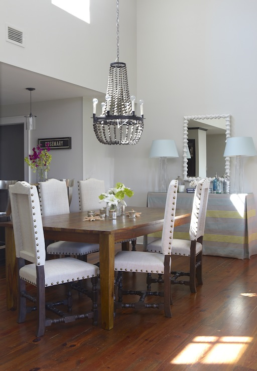 Table Kitchen Chairs And White