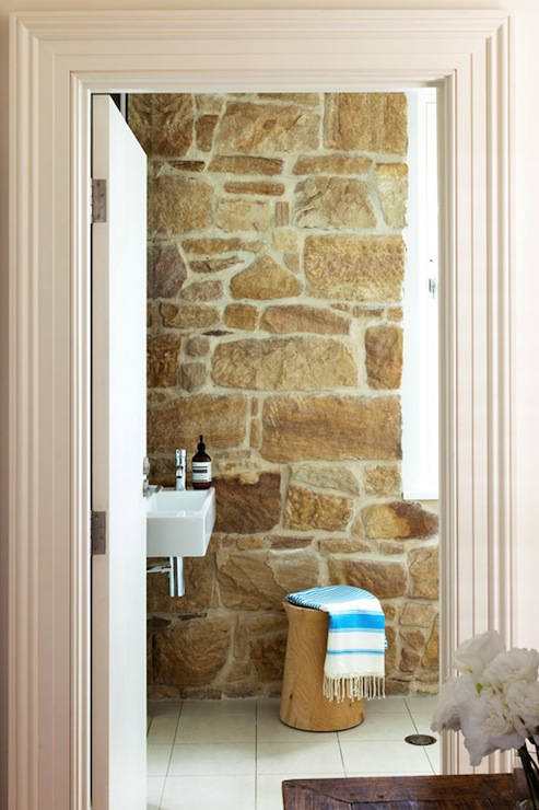 Stone Wall Country Bathroom Arent Amp Pyke