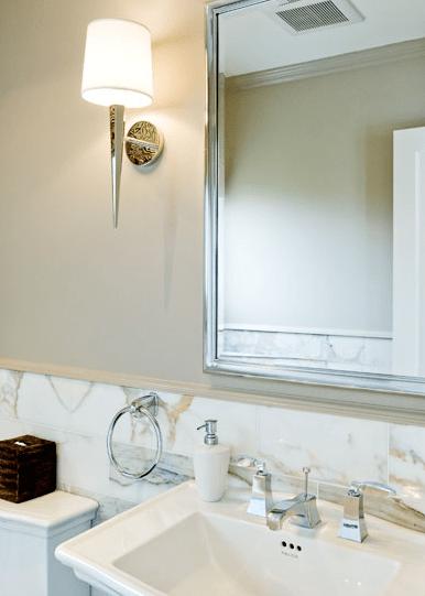 Bathroom Decor Tan Walls