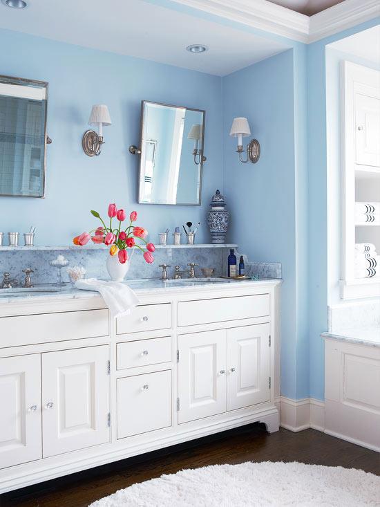 Blue Pendant Lights Kitchen