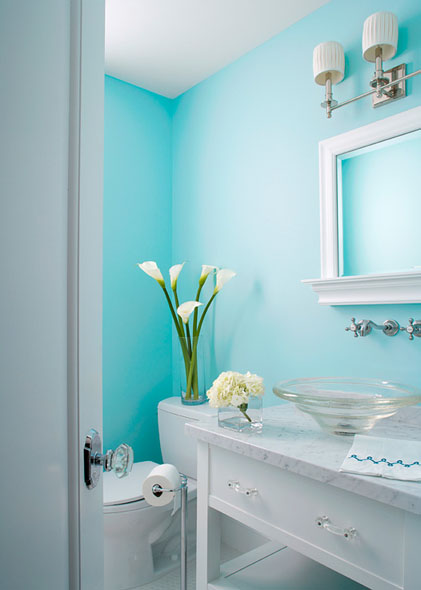 Turquoise And Gray Bathroom Accessories