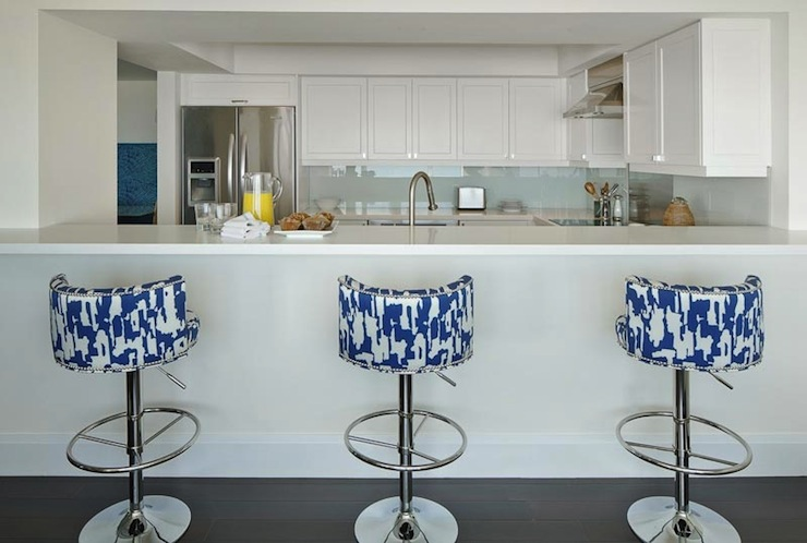Navy And White Living Room Pinterest