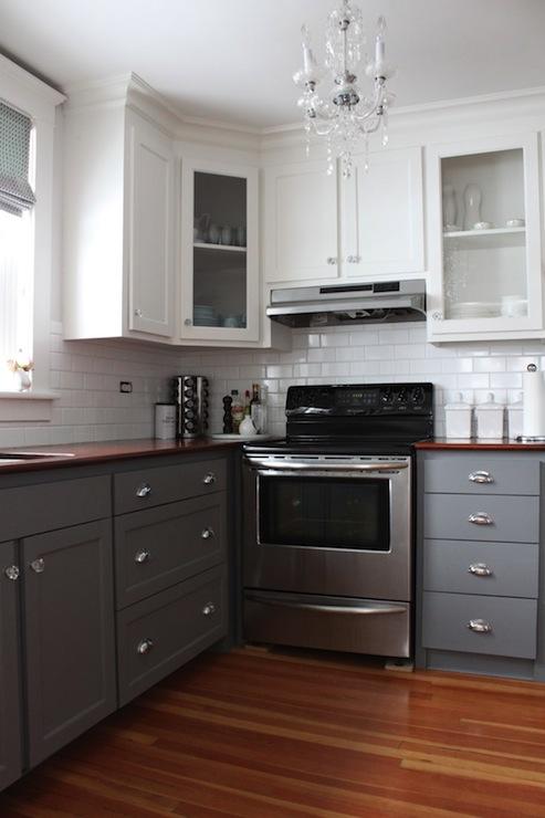 White Wood Kitchen Units