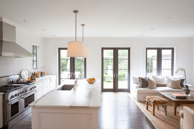 Kitchen Room Living Floor Plans And Open