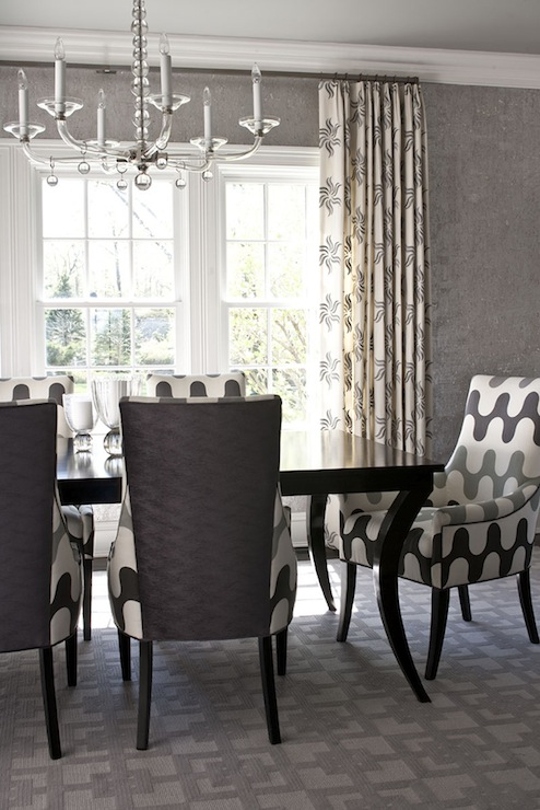 Black Dining Chairs And Silver