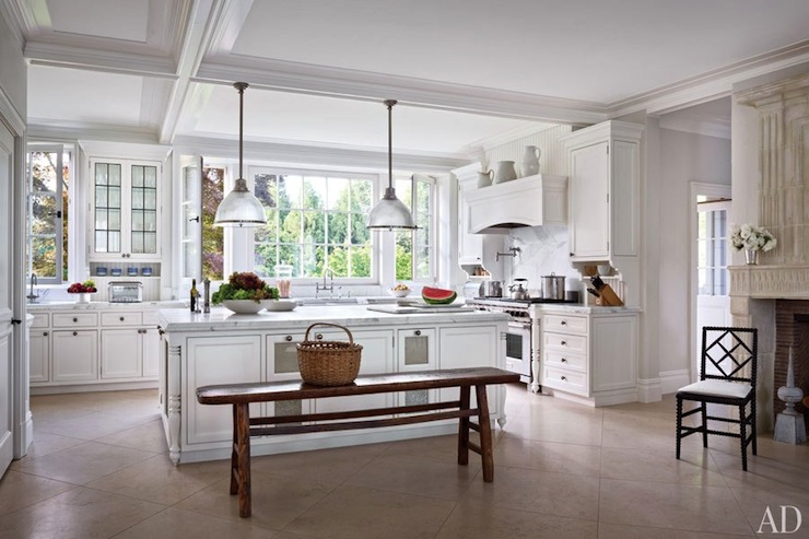 Kitchen Island Bench Transitional Kitchen Benjamin