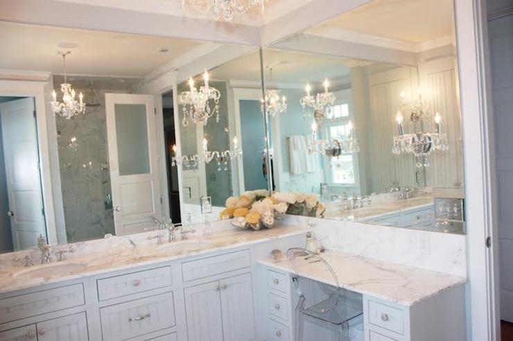 Bathroom Vanity Beadboard Walls