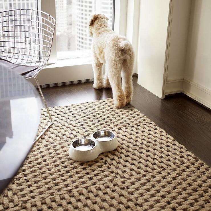 Weave A Story Tan Carpet Tiles
