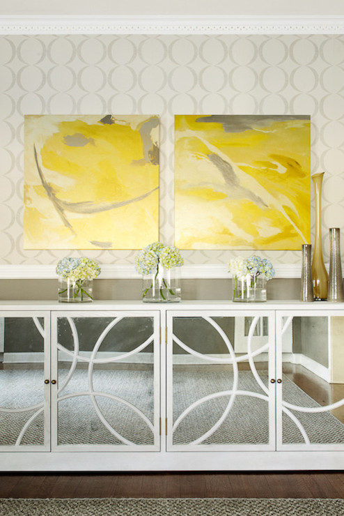 Yellow Living Room Accessories