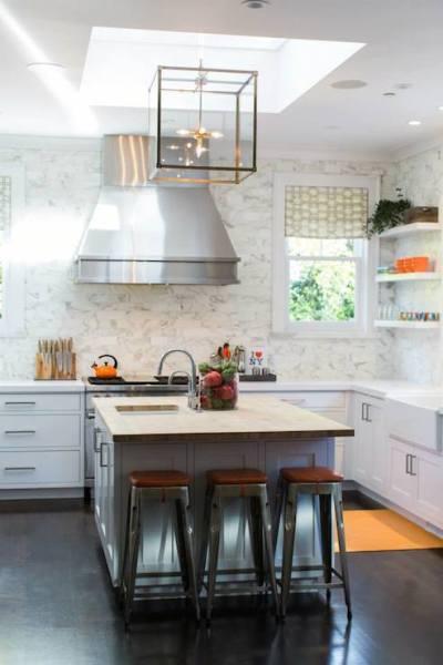 Kitchen Skylight - Transitional - kitchen - Benjamin Moore ...